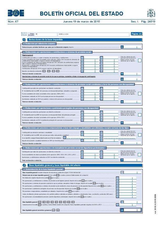 Modelo 100 Renta 2014 pagina 13